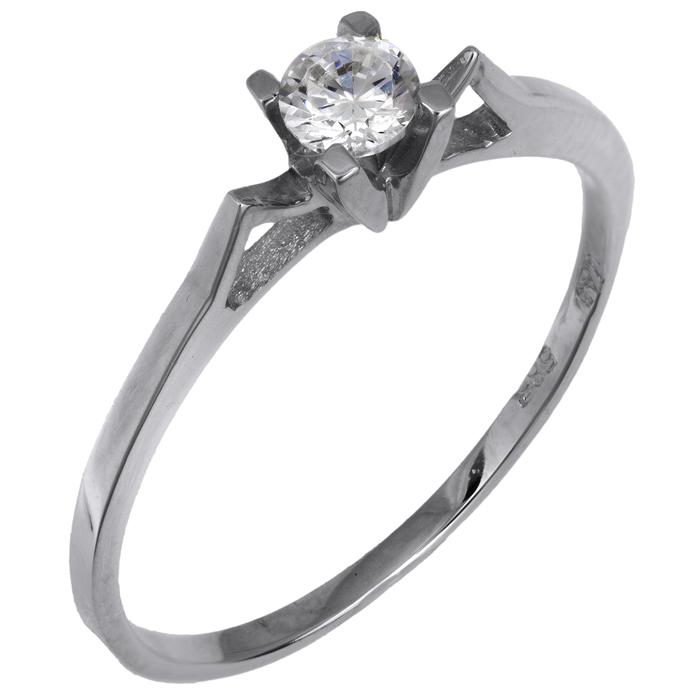 Μονόπετρο δαχτυλίδι Κ14 015860 015860 Χρυσός 14 Καράτια