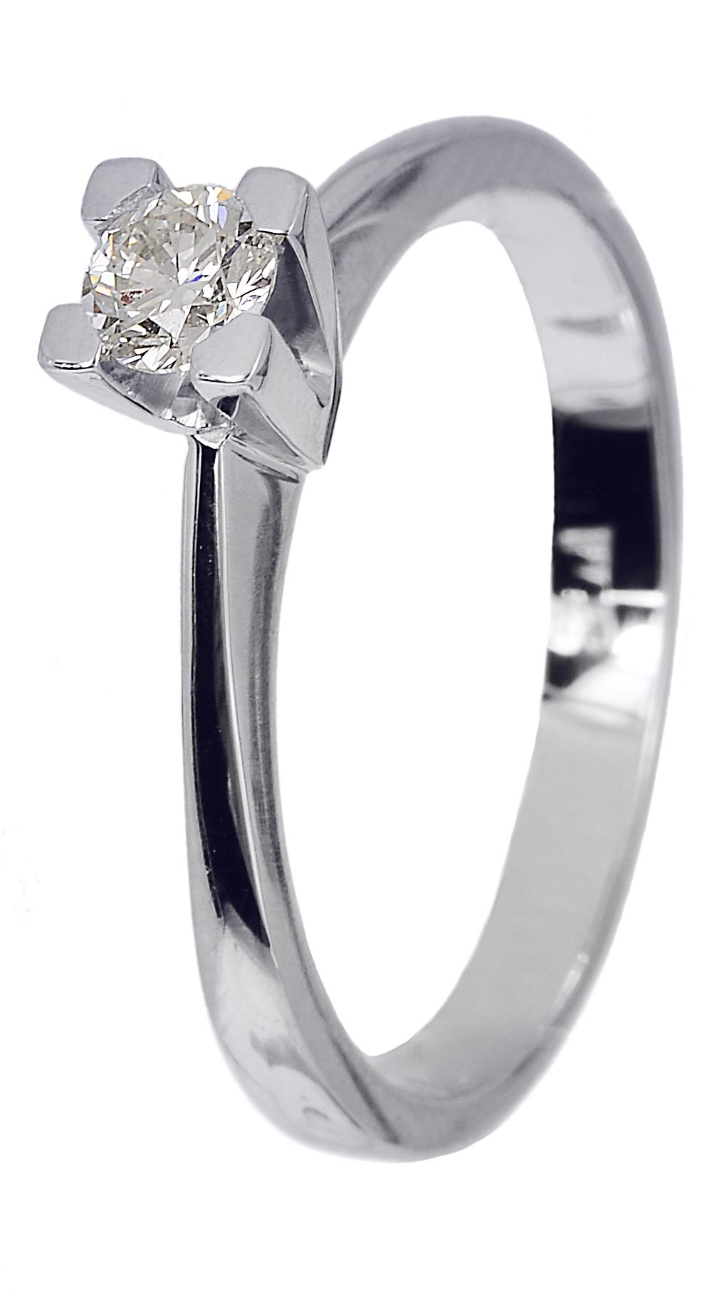 Δαχτυλίδι Αρραβώνα 018740 018740 Χρυσός 18 Καράτια