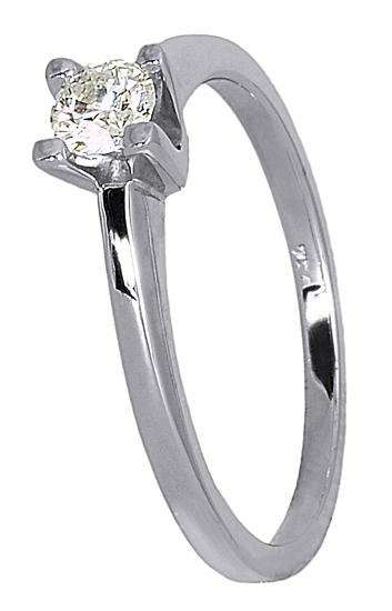Δαχτυλίδι γάμου με brilliant 017684 017684 Χρυσός 18 Καράτια