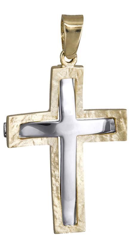 Σταυροί Βάπτισης - Αρραβώνα ΒΑΠΤΙΣΤΙΚΟΣ ΑΝΔΡΙΚΟΣ ΣΤΑΥΡΟΣ 015974 015974 Ανδρικό Χρυσός 14 Καράτια