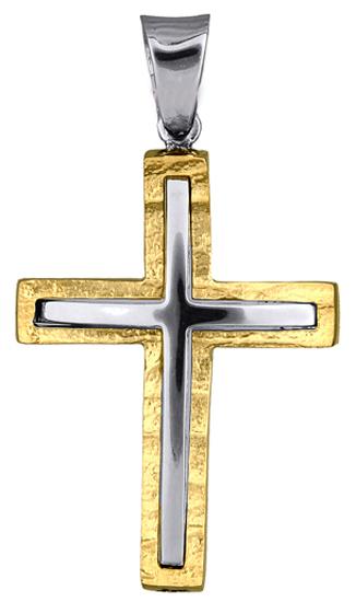 Σταυροί Βάπτισης - Αρραβώνα ΣΤΑΥΡΟΙ ΑΝΔΡΙΚΟΙ 015975 015975 Ανδρικό Χρυσός 14 Καρ σταυροί βάπτισης   γάμου σταυροί βάπτισης   αρραβώνα
