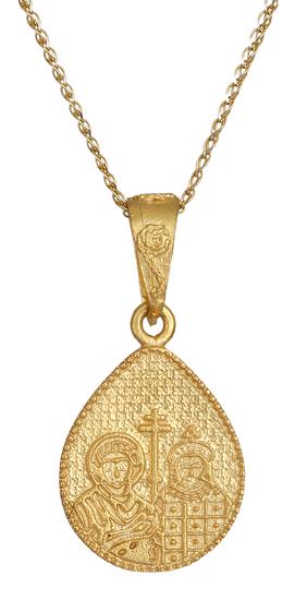 Χρυσό κωνσταντινάτο Κ9 015979 015979 Χρυσός 9 Καράτια