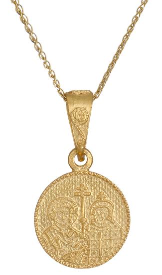 Χρυσό κωνσταντινάτο Κ9 015980 015980 Χρυσός 9 Καράτια