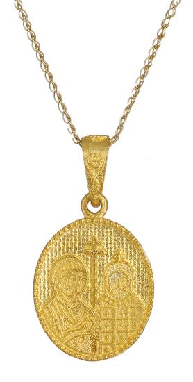 Κωνσταντινάτο χρυσό Κ14 002369 002369 Χρυσός 14 Καράτια