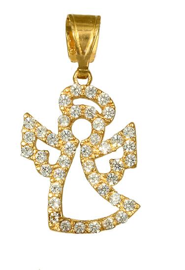 Χρυσό αγγελάκι κρεμαστό 016151 016151 Χρυσός 14 Καράτια