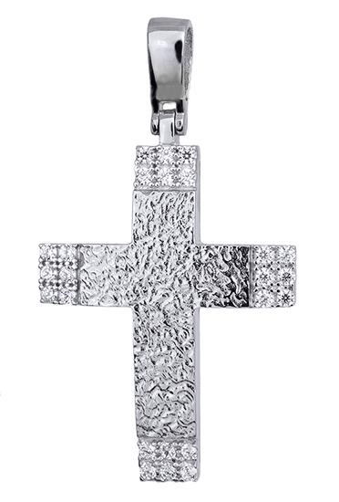 Σταυροί Βάπτισης - Αρραβώνα ΓΥΝΑΙΚΕΙΟΙ ΣΤΑΥΡΟΙ ΛΕΥΚΟΧΡΥΣΟΙ 016182 016182 Γυναικείο Χρυσός 14 Καράτια
