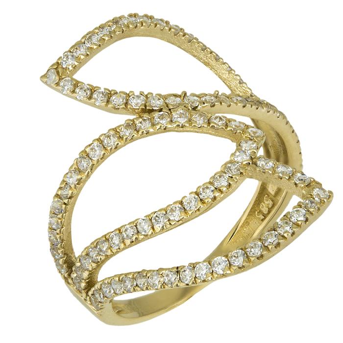 Χρυσό δαχτυλίδι Κ14 016240 016240 Χρυσός 14 Καράτια