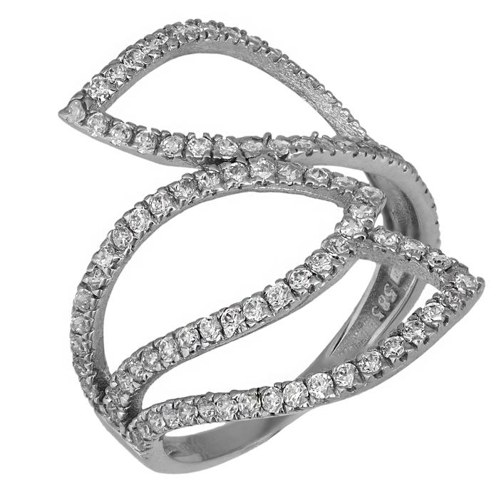 Γυναικείο δαχτυλίδι Κ14 016241 016241 Χρυσός 14 Καράτια