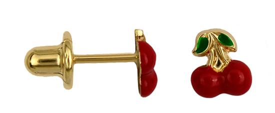Παιδικά Σκουλαρίκια Online 016297 Χρυσός 14 Καράτια