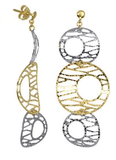ΣΚΟΥΛΑΡΙΚΙΑ ONLINE 016311 016311 Χρυσός 14 Καράτια χρυσά κοσμήματα σκουλαρίκια καρφωτά