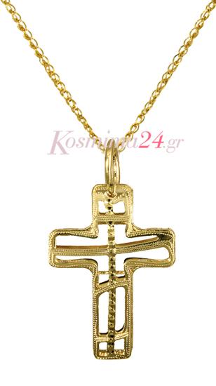 ΓΥΝΑΙΚΕΙΟΙ ΣΤΑΥΡΟΙ ΧΡΥΣΟΙ 016354C Χρυσός 14 Καράτια