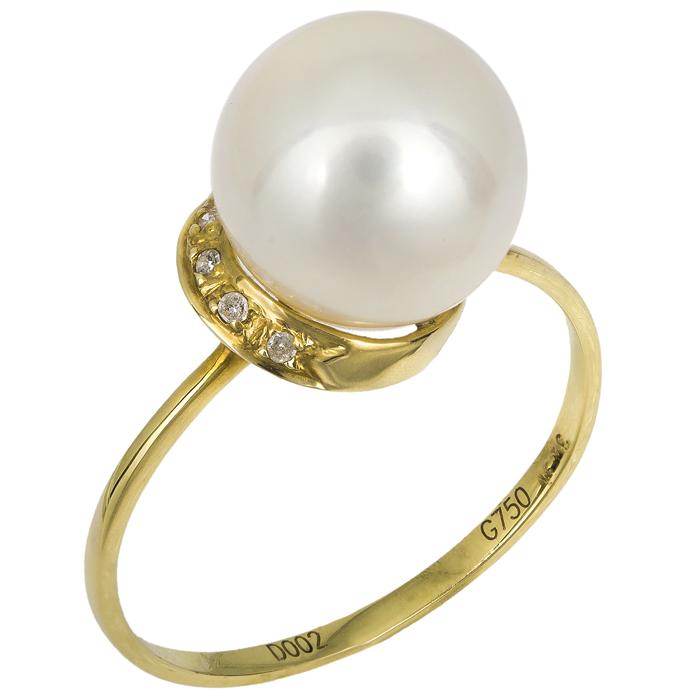 Δαχτυλίδι 18Κ με διαμάντια 016368 016368 Χρυσός 18 Καράτια