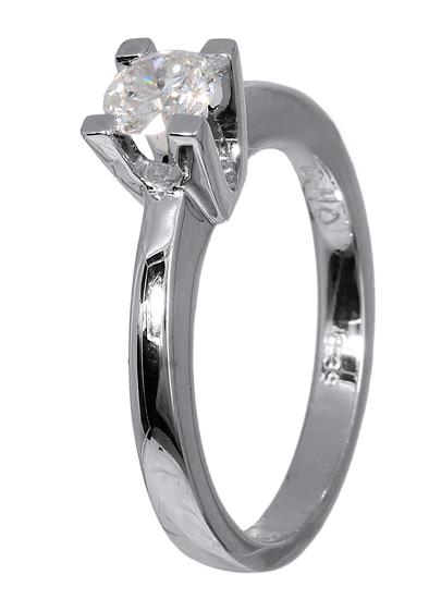 Μονόπετρο δαχτυλίδι 18Κ 018998 018998 Χρυσός 18 Καράτια