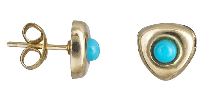 Γυναικεία σκουλαρίκια χρυσά Κ14 016493 016493 Χρυσός 14 Καράτια