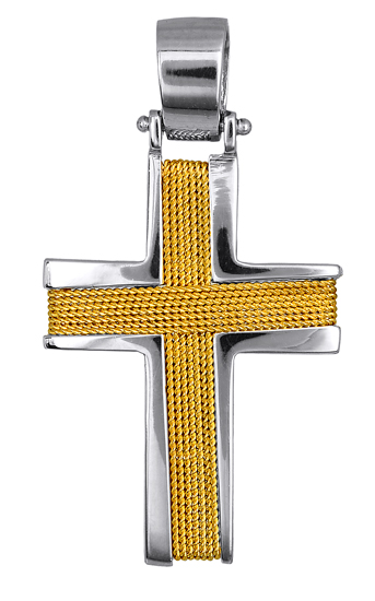 Σταυροί Βάπτισης - Αρραβώνα ΦΤΗΝΗ ΒΑΠΤΙΣΗ - ΣΤΑΥΡΟΙ - ΚΟΣΜΗΜΑΤΑ 016538 016538 Ανδρικό Χρυσός 14 Καράτια