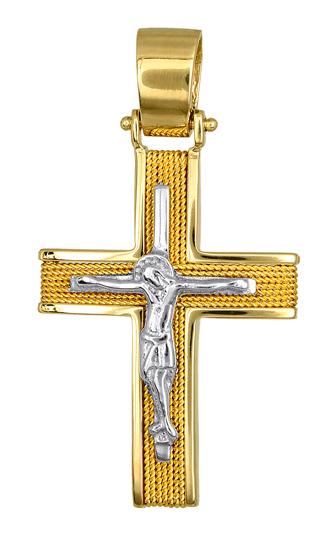 Σταυροί Βάπτισης - Αρραβώνα Χρυσά Κοσμήματα - Σταυροί Βάπτισης 016539 016539 Ανδρικό Χρυσός 14 Καράτια
