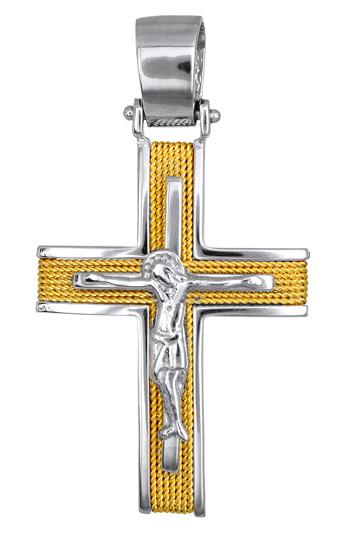 Σταυροί Βάπτισης - Αρραβώνα ΒΑΠΤΙΣΤΙΚΑ ΠΑΚΕΤΑ - ΣΤΑΥΡΟΙ ONLINE 016541 016541 Ανδρικό Χρυσός 14 Καράτια