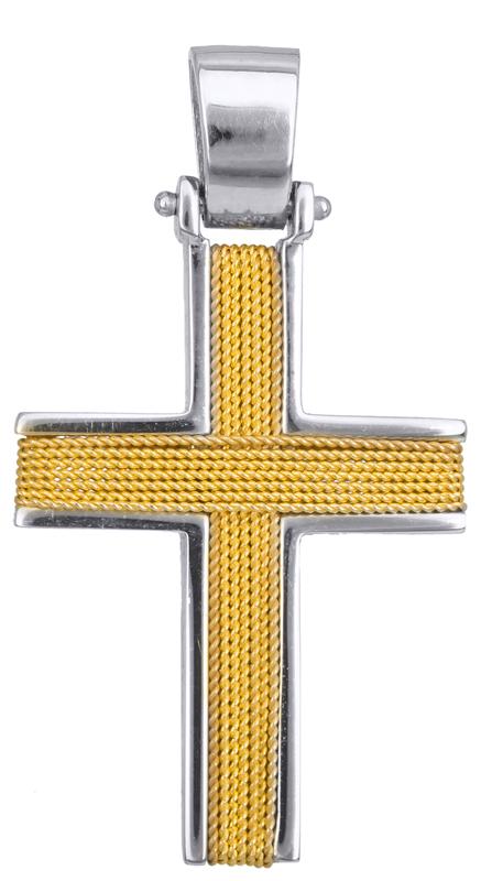 Σταυροί Βάπτισης - Αρραβώνα ΒΑΠΤΙΣΤΙΚΟΙ ΣΤΑΥΡΟΙ ΣΤΗΝ ΘΕΣΣΑΛΟΝΙΚΗ 016544 016544 Ανδρικό Χρυσός 14 Καράτια