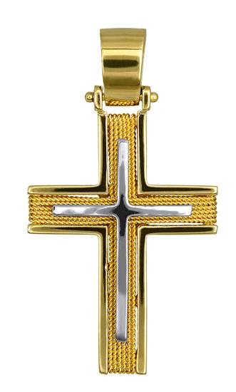 Σταυροί Βάπτισης - Αρραβώνα Ανδρικοί Σταυροί 016545 016545 Ανδρικό Χρυσός 14 Καρ σταυροί βάπτισης   γάμου σταυροί βάπτισης   αρραβώνα