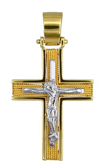 Σταυροί Βάπτισης - Αρραβώνα ΧΡΥΣΟΙ ΣΤΑΥΡΟΙ ΒΑΠΤΙΣΗΣ 016548 016548 Ανδρικό Χρυσός 14 Καράτια