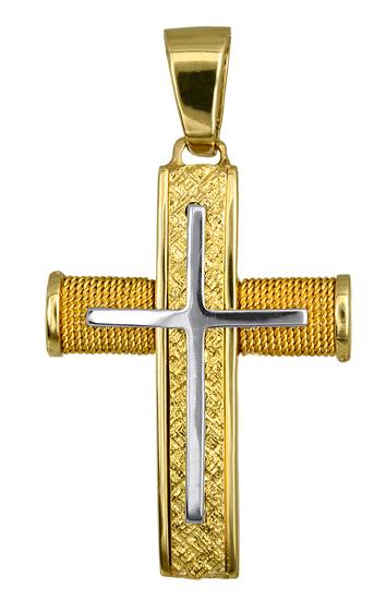 Σταυροί Βάπτισης - Αρραβώνα ΧΡΥΣΟΣ ΣΤΑΥΡΟΣ 016551 Ανδρικό Χρυσός 14 Καράτια