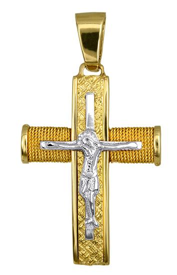 Σταυροί Βάπτισης - Αρραβώνα ΟΙΚΟΝΟΜΙΚΟΙ ΧΡΥΣΟΙ ΣΤΑΥΡΟΙ 016554 016554 Ανδρικό Χρυσός 14 Καράτια