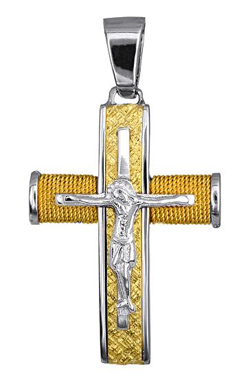 Σταυροί Βάπτισης - Αρραβώνα ΣΤΑΥΡΟΣ ΓΙΑ ΑΝΔΡΑ 016557 016557 Ανδρικό Χρυσός 14 Καράτια