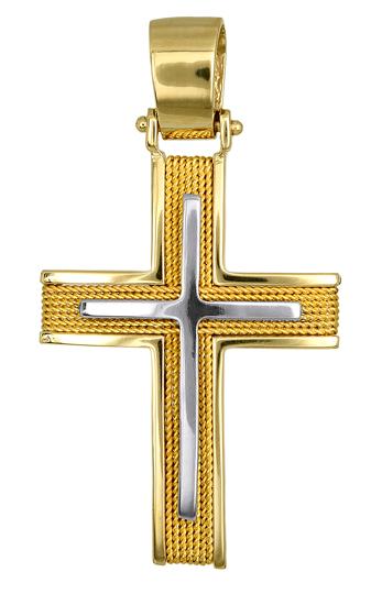 Σταυροί Βάπτισης - Αρραβώνα ΑΝΔΡΙΚΟΙ ΧΡΥΣΟΙ ΣΤΑΥΡΟΙ ΤΙΜΕΣ 016558 016558 Ανδρικό  σταυροί βάπτισης   γάμου σταυροί βάπτισης   αρραβώνα