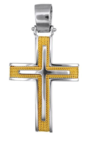 Σταυροί Βάπτισης - Αρραβώνα ΚΟΣΜΗΜΑΤΑ ΓΙΑ ΒΑΠΤΙΣΗ - ΑΡΡΑΒΩΝΑ 016560 016560 Ανδρι σταυροί βάπτισης   γάμου σταυροί βάπτισης   αρραβώνα