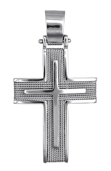 Σταυροί Βάπτισης - Αρραβώνα ΟΙΚΟΝΟΜΙΚΟΙ ΛΕΥΚΟΧΡΥΣΟΙ ΣΤΑΥΡΟΙ Κ14 016565 016565 Ανδρικό Χρυσός 14 Καράτια