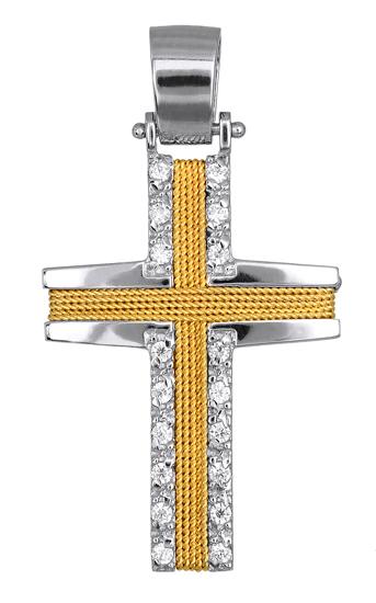 Σταυροί Βάπτισης - Αρραβώνα ΓΥΝΑΙΚΕΙΟΣ ΣΤΑΥΡΟΣ - ΚΟΣΜΗΜΑΤΑ ONLINE 016572 016572  σταυροί βάπτισης   γάμου σταυροί βάπτισης   αρραβώνα