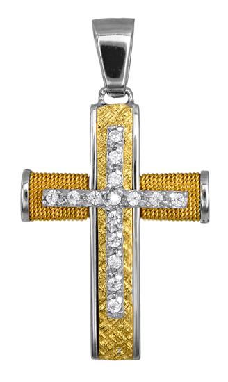 Σταυροί Βάπτισης - Αρραβώνα ΣΤΑΥΡΟΣ ΒΑΠΤΙΣΗΣ ΓΙΑ ΚΟΡΙΤΣΙ 016575 016575 Γυναικείο Χρυσός 14 Καράτια
