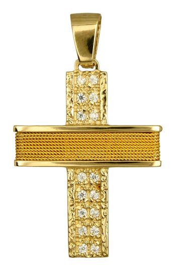 Σταυροί Βάπτισης - Αρραβώνα ΣΤΑΥΡΟΙ ΒΑΠΤΙΣΗΣ ΓΙΑ ΚΟΡΙΤΣΙ 016576 016576 Γυναικείο Χρυσός 14 Καράτια