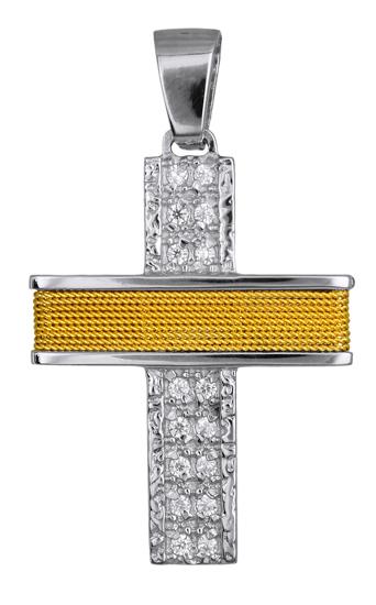 Σταυροί Βάπτισης - Αρραβώνα ΓΥΝΑΙΚΕΙΟΣ ΣΤΑΥΡΟΣ ΓΙΑ ΑΡΡΑΒΩΝΑ 016578 016578 Γυναικείο Χρυσός 14 Καράτια
