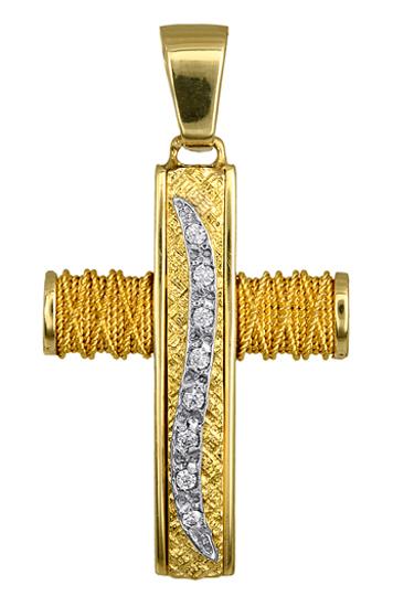 Σταυροί Βάπτισης - Αρραβώνα ΧΡΥΣΟΙ ΓΥΝΑΙΚΕΙΟΙ ΣΤΑΥΡΟΙ - ΤΙΜΕΣ 016579 016579 Γυναικείο Χρυσός 14 Καράτια