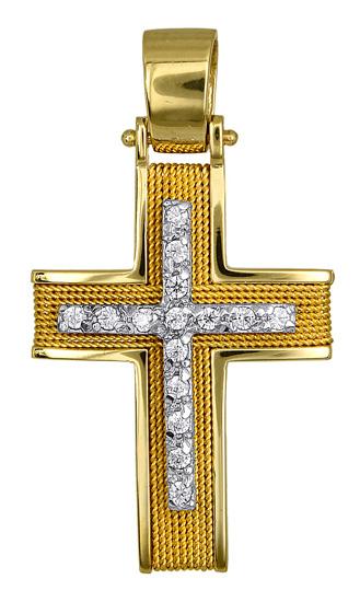 Σταυροί Βάπτισης - Αρραβώνα ΦΘΗΝΟΙ ΣΤΑΥΡΟΙ ΒΑΠΤΙΣΗΣ 016585 016585 Γυναικείο Χρυσός 14 Καράτια