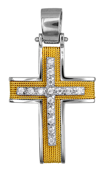 Σταυροί Βάπτισης - Αρραβώνα Σταυροί Βάπτισης & Αρραβώνα 016587 016587 Γυναικείο Χρυσός 14 Καράτια