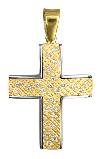 Σταυροί Βάπτισης - Αρραβώνα ΓΥΝΑΙΚΕΙΟΙ ΣΤΑΥΡΟΙ 016612 016612 Γυναικείο Χρυσός 14 Καράτια