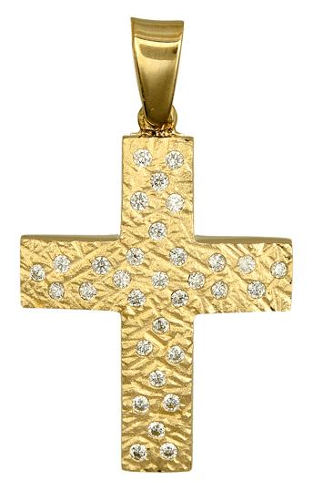 Σταυροί Βάπτισης - Αρραβώνα ΧΡΥΣΟΙ ΣΤΑΥΡΟΙ - ΚΟΣΜΗΜΑΤΑ ΧΡΥΣΑ 016613 Γυναικείο Χρυσός 14 Καράτια