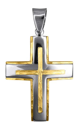 Σταυροί Βάπτισης - Αρραβώνα ΑΝΔΡΙΚΟΙ ΣΤΑΥΡΟΙ ΣΧΕΔΙΑ 016633 016633 Ανδρικό Χρυσός σταυροί βάπτισης   γάμου σταυροί βάπτισης   αρραβώνα