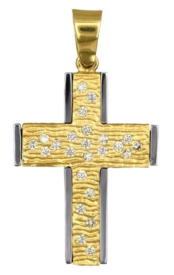 Σταυροί Βάπτισης - Αρραβώνα ΓΥΝΑΙΚΕΙΟΙ ΣΤΑΥΡΟΙ - ΚΟΣΜΗΜΑΤΑ ONLINE 016724 016724 Γυναικείο Χρυσός 14 Καράτια