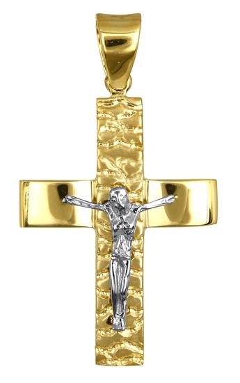 Σταυροί Βάπτισης - Αρραβώνα ΧΡΥΣΟΙ ΑΝΔΡΙΚΟΙ ΣΤΑΥΡΟΙ ONLINE 016726 Ανδρικό Χρυσός σταυροί βάπτισης   γάμου σταυροί βάπτισης   αρραβώνα