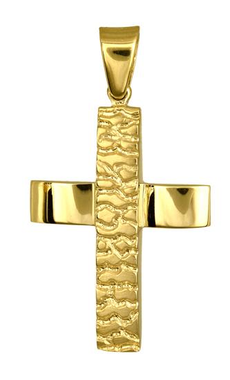 Σταυροί Βάπτισης - Αρραβώνα ΑΝΔΡΙΚΟΙ ΣΤΑΥΡΟΙ ΧΡΥΣΟΙ 016728 016728 Ανδρικό Χρυσός 14 Καράτια