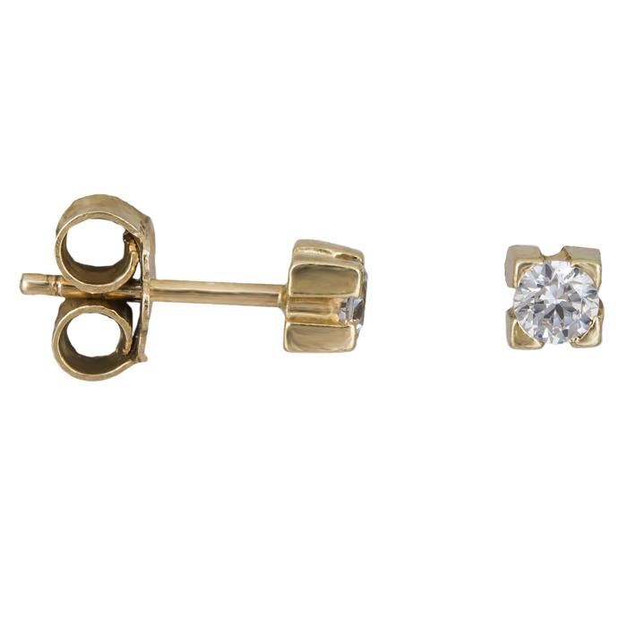 Χρυσά σκουλαρίκια Κ14 016859 016859 Χρυσός 14 Καράτια