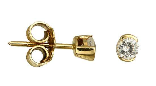 ΚΟΣΜΗΜΑΤΑ ΧΡΥΣΑ ONLINE 016867 Χρυσός 14 Καράτια χρυσά κοσμήματα σκουλαρίκια καρφωτά
