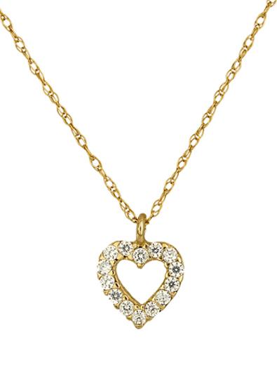 ΚΟΛΙΕ ΚΑΡΔΙΑ 016872 016872 Χρυσός 14 Καράτια χρυσά κοσμήματα καρδιές