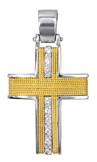 Σταυροί Βάπτισης - Αρραβώνα ΣΤΑΥΡΟΙ ΒΑΠΤΙΣΗΣ 017097 017097 Γυναικείο Χρυσός 14 Καράτια