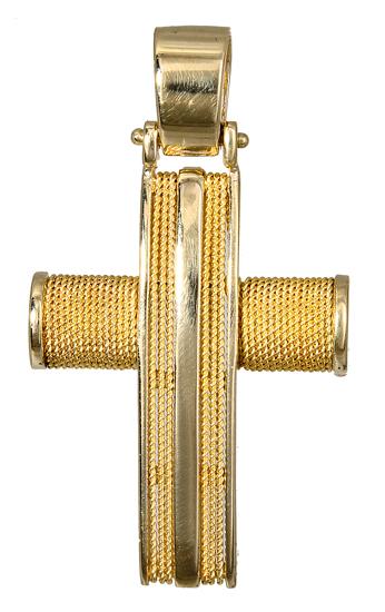 Σταυροί Βάπτισης - Αρραβώνα ΧΡΥΣΟΣ ΑΝΔΡΙΚΟΣ ΣΤΑΥΡΟΣ 017102 Ανδρικό Χρυσός 14 Καράτια
