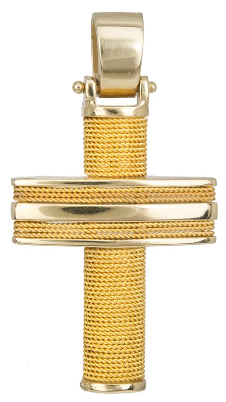 Σταυροί Βάπτισης - Αρραβώνα Ανδρικός Χρυσός Σταυρός 017105 017105 Ανδρικό Χρυσός 14 Καράτια