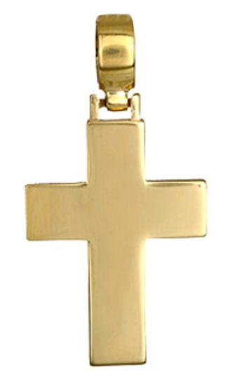 Σταυροί Βάπτισης - Αρραβώνα Σταυρός βαπτιστικός για αγόρι 017219 017219 Ανδρικό Χρυσός 14 Καράτια
